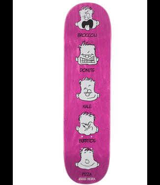 "Pizza Skateboards 8.0"" Vieira Feelings Deck"