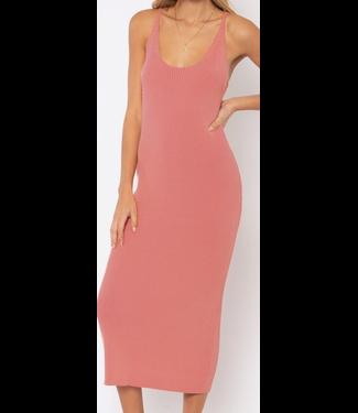 Indira Knit Midi Dress