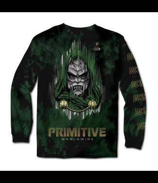 Primitive Skateboards Marvel Doom Washed Long Sleeve T-Shirt
