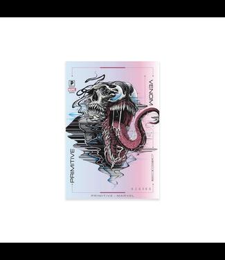Primitive Skateboards Marvel Venom Foil Sticker