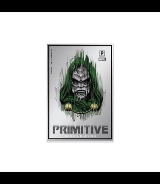 Primitive Skateboards Marvel Doctor Doom Foil Sticker