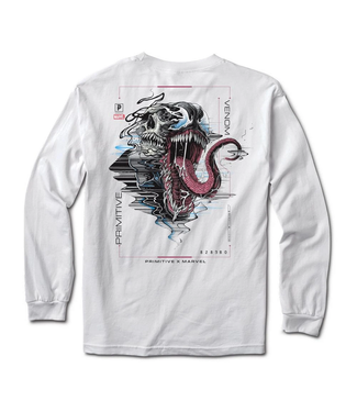 Primitive Skateboards Marvel Venom Long Sleeve T-Shirt