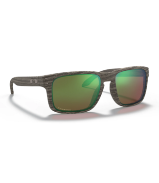 Holbrook Woodgrain Polar Sunglasses