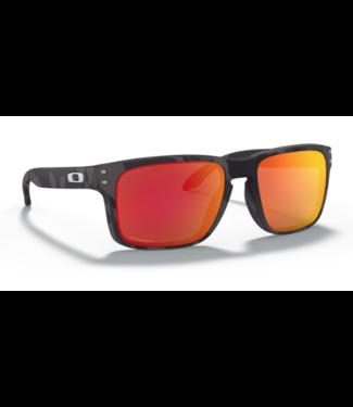 Oakley Holbrook Black Camo Prizm Ruby Sunglasses