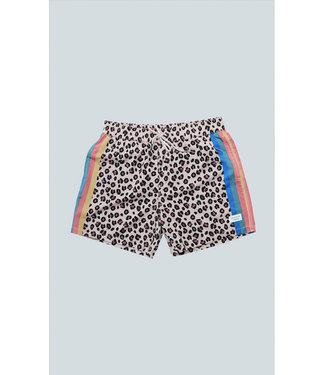 "Duvin Design Co. 15"" Cheetah Disco Swim Short"