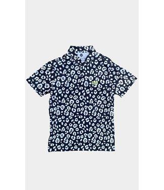 Duvin Design Co. Leopard Polo Shirt