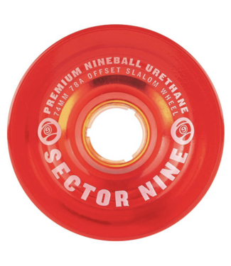 Sector 9 74mm 9-Balls Slalom 78A Wheels