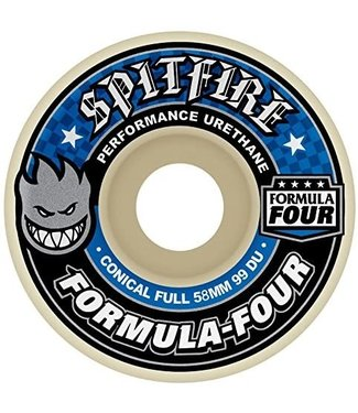 Spitfire Wheels 54mm F4 Conical Full 99D Wheels