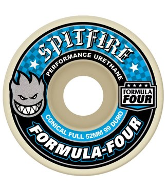 Spitfire Wheels 52mm F4 Conical Full 99D Wheels