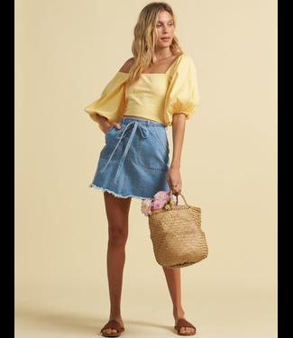 Billabong The Salty Blonde Tied Up Skirt