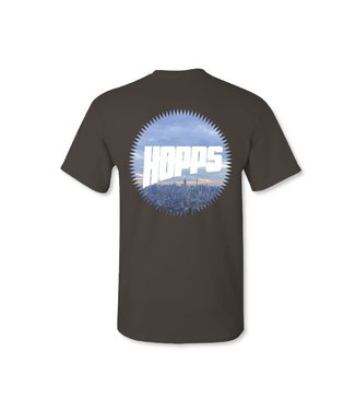 Hopps Skateboards Sun City Logo T-Shirt