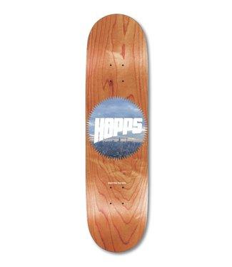 "Hopps Skateboards 8.0"" Sun Logo City Deck"