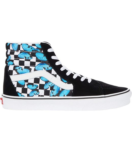Classic Sk8-Hi Butterfly Checkerboard Shoes