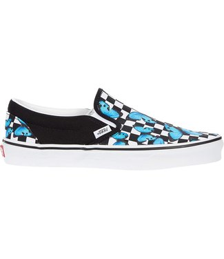 Vans Classic Slip-On Butterfly Checkerboard Shoes