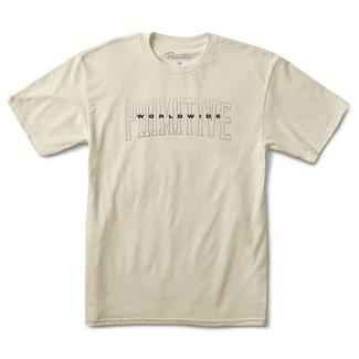 Primitive Skateboards Collegiate Worldwide T-Shirt
