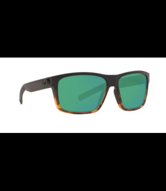 Costa Del Mar 580P Slack Tide MT Black Tort Green Mirror Sunglasses