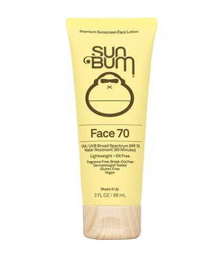 Sun Bum Face SPF 70 Sunscreen Lotion