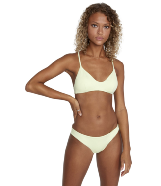RVCA Solid Crossback Bikini Top