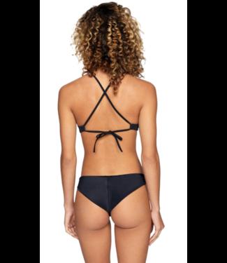 RVCA Solid Cheeky Bikini Bottom