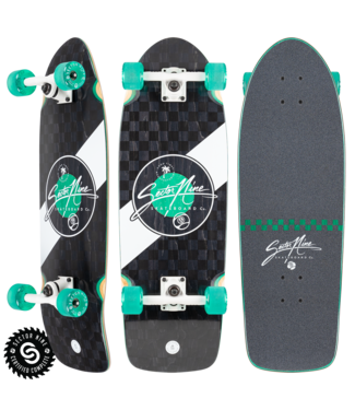 """Sector 9 9.8"""" Fat Wave Mosaic Complete Cruiser"""