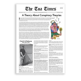 Theories Skateboards TOA Times Issue #6