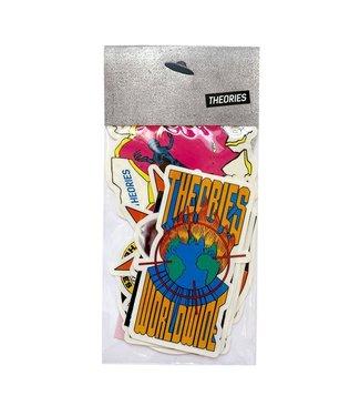 Theories Skateboards Rarities Sticker Pack