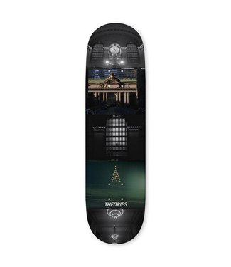 """Theories Skateboards 8.0"""" 16MM Grand Central Deck"""