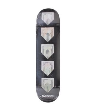 """Theories Skateboards 8.5"""" Paper Planes Deck"""