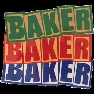 Baker Skateboards Brand Logo Decal