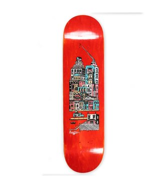 "Traffic Skateboards 8.25"" Community City Blocks Deck"