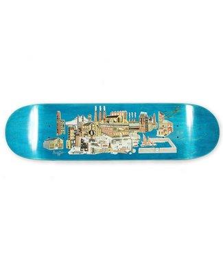 "Traffic Skateboards 8.5"" City Blocks Industrial Deck"