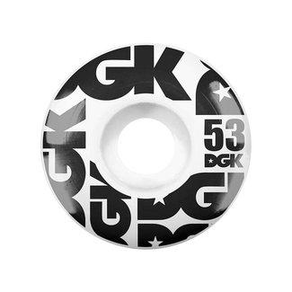 DGK Skateboards 53mm Street Formula 101a Wheels