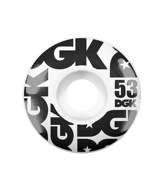 DGK 53mm Street Formula 101a Wheels