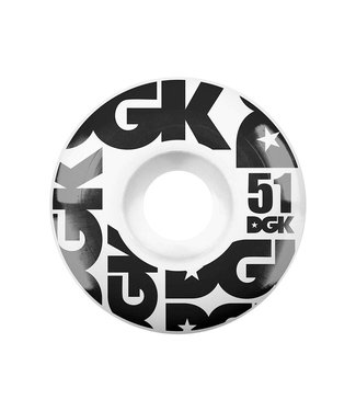 DGK 51mm Street Formula 101a Wheels
