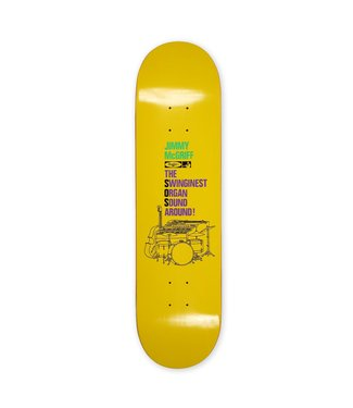 "Traffic Skateboards 8.5"" The Worm Deck"