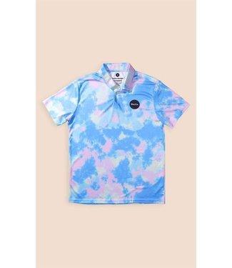 Duvin Design Co. Tie Dye Polo Shirt