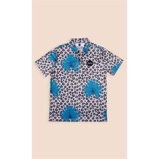 Duvin Design Co. Poolside Cheetah Polo Shirt