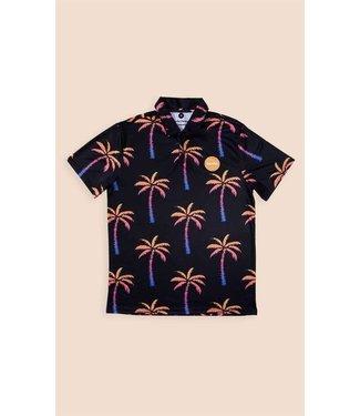 Duvin Design Co. Palm Tree Polo Shirt