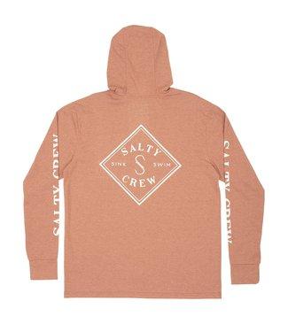 Salty Crew Tippet Pocket Hooded Tech Long Sleeve T-Shirt