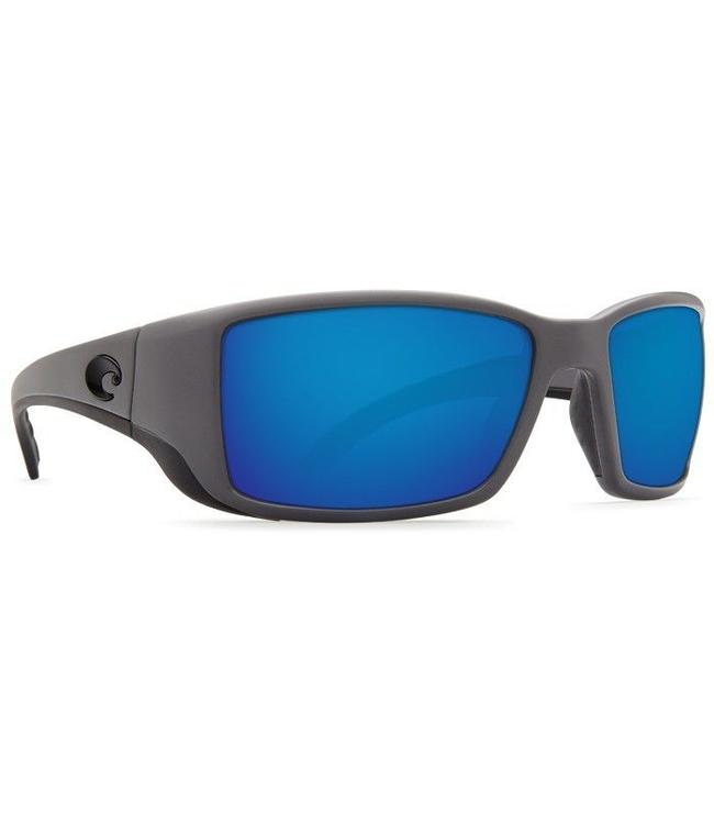 ad368620b7 Costa Del Mar Blackfin Matte Gray Blue Mirror 580G Sunglasses