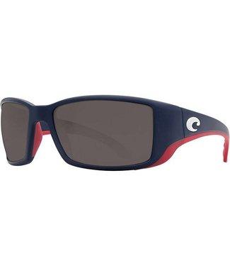 Costa Del Mar Blackfin USA Blue 580P Sunglasses