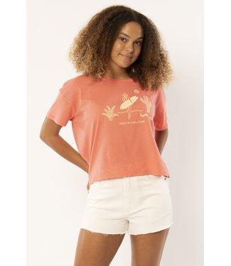 Sisstrevolution Desert Ride Crop Knit T-Shirt