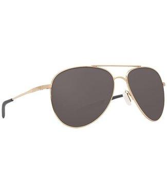 Costa Del Mar Cook Shiny Gold 580P Grey Lens Sunglasses