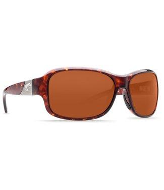 Costa Del Mar Inlet Tort 580P Copper Lens Sunglasses