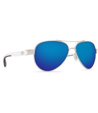 Costa Del Mar Loreto Palladium 580P Blue Mirror Sunglasses