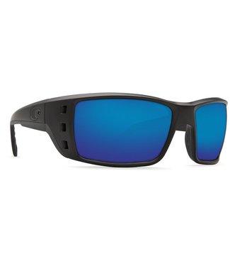 Costa Del Mar Permit Blackout 580G Blue Mirror Lens Sunglasses
