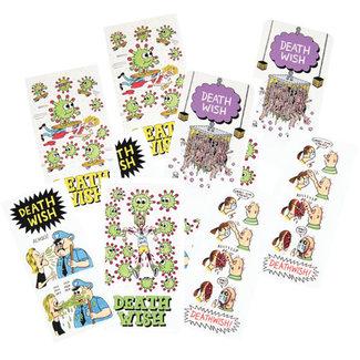 Deathwish Quarantine Stickers