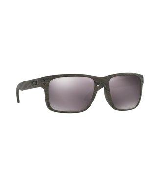 Oakley Holbrook Sunglasses Woodgrain Prizm Daily Polarized