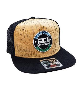 RCI Optics Medallion Logo Flat Bill Hat