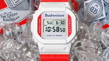 'King of Beers' Budweiser G-Shock Watch